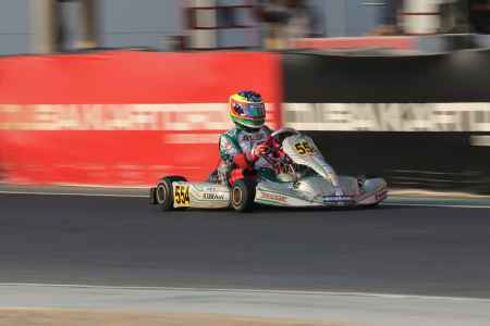 Silvio Musso X30 Challenge UAE Round 1 - X30 Shifter Dubai Kartdrome
