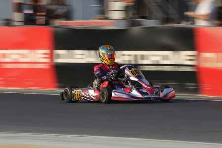 Abdulla Al Ali X30 Challenge UAE Round 1 - X30 Shifter Dubai Kartdrome