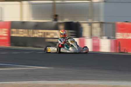 Alessandro Stura X30 Challenge UAE Round 1 - X30 Shifter Dubai Kartdrome