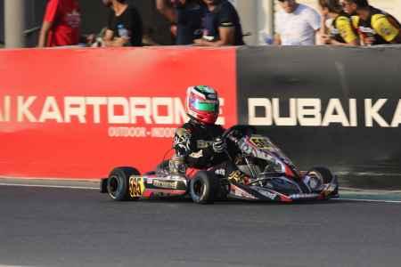 Tony Hogg X30 Challenge UAE Round 1 - X30 Shifter Dubai Kartdrome