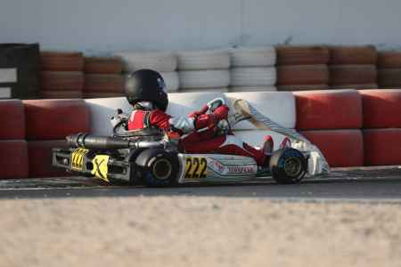 Myles Fleming - Junior X30 - Dubai Kartdrome