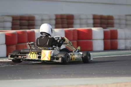 Saeed Mebjar - Junior X30 - Dubai Kartdrome