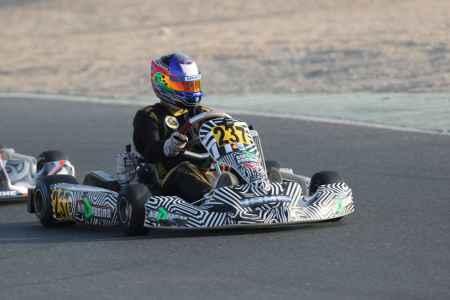 Denis Bahar - Junior X30 - Dubai Kartdrome