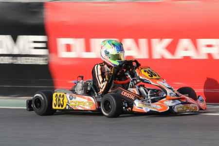 Liam Crystal - X30 Senior - Dubai Kartdrome