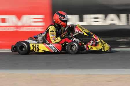Maz Chughtai - X30 Senior - X30 Challenge UAE Round 1 - Dubai Kartdrome