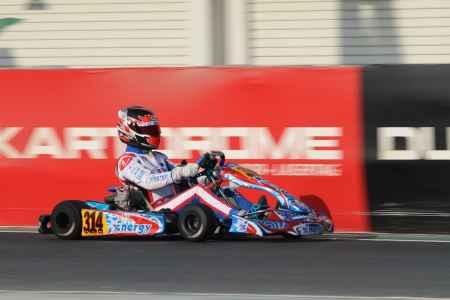 Thomas Raw - X30 Senior - X30 Challenge UAE Round 1 - Dubai Kartdrome