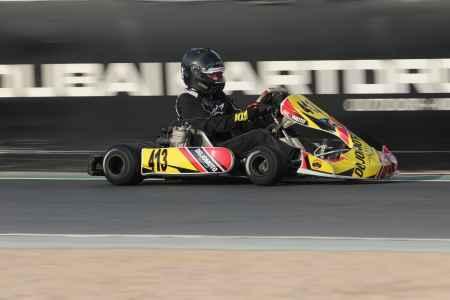 Ekaterina Kazakova - X30 Master - X30 Challenge UAE Round 1 - Dubai Kartdrome