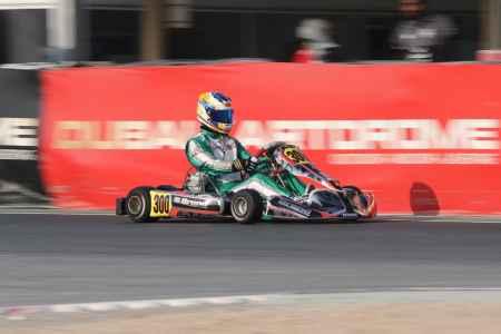 Jakob Robinson - X30 Senior - X30 Challenge UAE Round 1 - Dubai Kartdrome