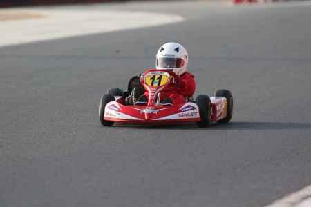 Amer Al Ghafri - UAE Bambino Cup - Dubai Kartdrome