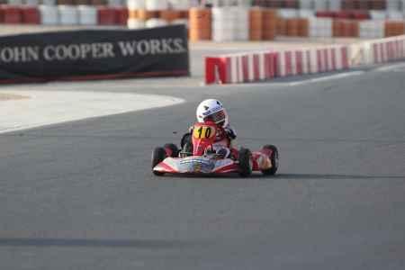 Mohammed Al Qassimi - UAE Bambino Cup - Dubai Kartdrome