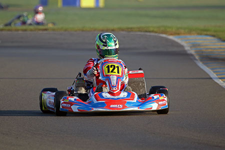 Lachlan Robinson On Pole For IAME International Final 2017