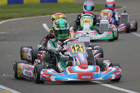 Lachlan Robinson Takes Pole Position at IAME International Final