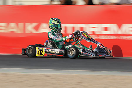 Lachlan Robinson takes Round 1 Junior Victory