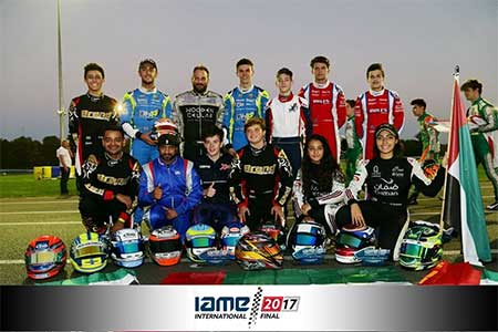 IAME International Final 2017 - 3 Top 10 Finishes For Team UAE