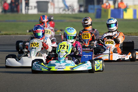 Tom Bale Takes X30 Shifter Pole Position at IAME International Final