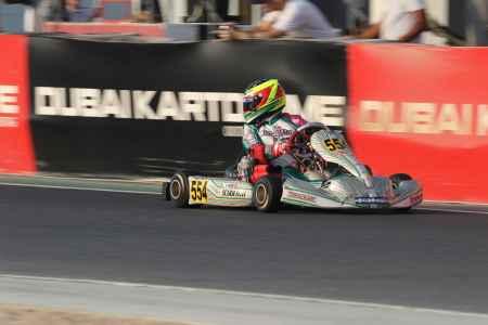 Silvio Musso X30 Shifter Dubai Kartdrome