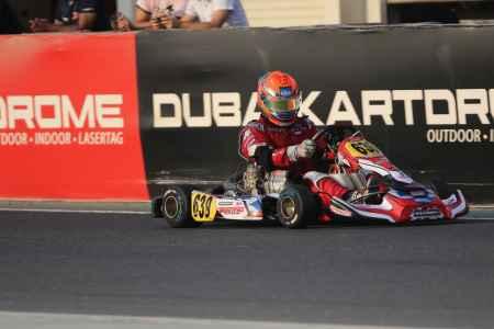 Alexandros Annivas X30 Challenge UAE Round 1 - X30 Shifter Dubai Kartdrome