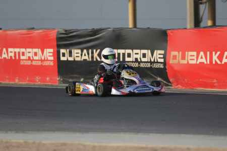 Abdulrahman Al Shamsi X30 Challenge UAE Round 1 - X30 Shifter Dubai Kartdrome