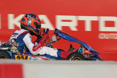 Jamie Day - Junior X30 - Dubai Kartdrome
