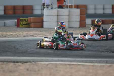 Mohammed Al Habsi - Junior X30 - Dubai Kartdrome