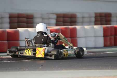 Saeed Mebjar - Junior X30 - Dubai Kartdrome