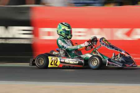 Lachlan Robinson - Junior X30 - Dubai Kartdrome