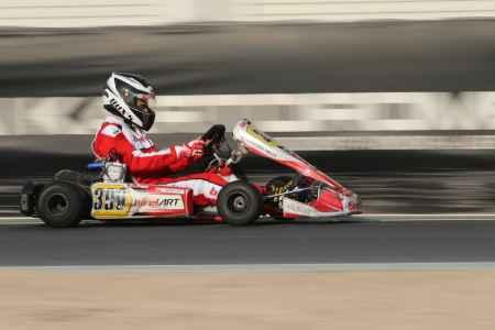 Abdullah Al Dulaimi - X30 Senior - Dubai Kartdrome