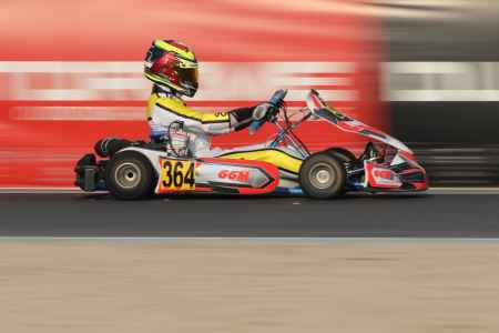 Ali Akabi - X30 Senior - Dubai Kartdrome