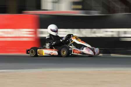 Prashant Kochhar - X30 Senior - X30 Challenge UAE Round 1 - Dubai Kartdrome