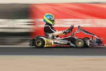 Enzo Fontanella - X30 Senior - Dubai Kartdrome