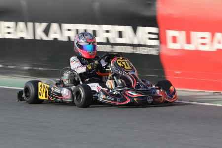 Amna Al Qubaisi - X30 Senior - Dubai Kartdrome