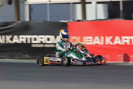 Jakob Robinson - X30 Senior - Dubai Kartdrome