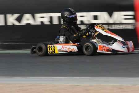 Allan Khoury - X30 Senior - X30 Challenge UAE Round 1 - Dubai Kartdrome