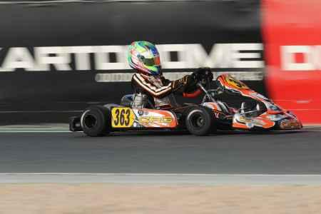 Liam Crystal - X30 Senior - X30 Challenge UAE Round 1 - Dubai Kartdrome
