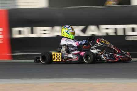 Hamda Al Qubaisi - X30 Senior - X30 Challenge UAE Round 1 - Dubai Kartdrome