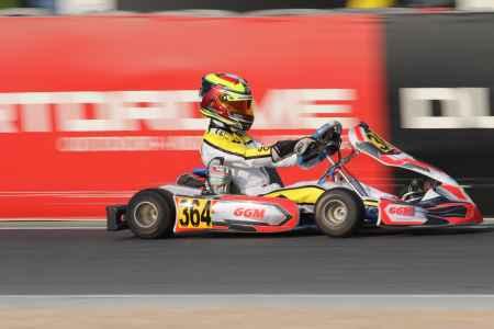 Ali Akabi - X30 Senior - X30 Challenge UAE Round 1 - Dubai Kartdrome