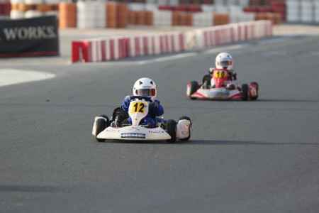 Rashed Al Ghafri - UAE Bambino Cup - Dubai Kartdrome